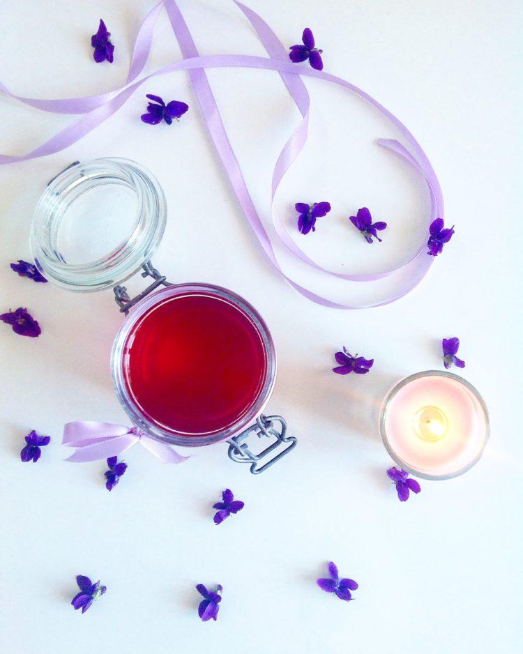 Sirop de violette les kifs de sandra - Sirop de violette ...
